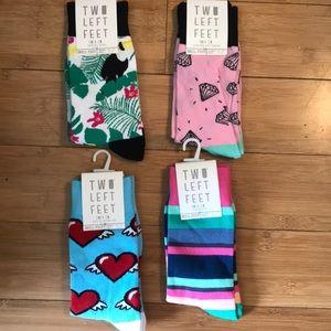Two Left Feet sock bundle